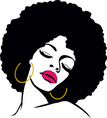 woman with afro hair