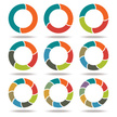 Circle,Infographic,Graph,Ar...