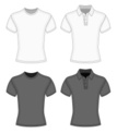 Polo Shirt,Men,template,T-S...