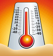 Heat Wave,Thermometer,Level...