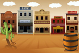 Wild West,Cartoon,West - Di...