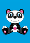 Panda,Animal Head,Bear,Sitt...