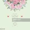 Beautiful  bouquet in vector. Hand drawn vector illustration.