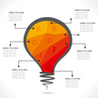 Light Bulb,Infographic,Vect...