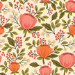 Flower,Springtime,Bouquet,Orange Color,Floral Pattern,Flower Head,Pattern,Elegance,Green Color,Decoration,Nature,Femininity,Romance,Repetition,Pink Color,Wallpaper Pattern,Leaf,Bud,Old-fashioned,Multi Colored,Beauty In Nature,Wallpaper,Summer,Seamless,Retro Revival,Plant,Vector,Branch,Backgrounds,Painted Image,Berry,Blossom,Botany,Flower Bed