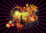 Backgrounds,Vector,Circus,1...