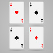 Ace,Cards,Symbol,Vector,Sha...