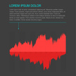 Graph,Data,Red,Infographic,...