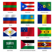 National Flag,World Map,Fla...