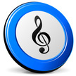 Music,Vector,Blue,Sign,Thre...