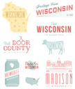 Wisconsin,Retro Revival,Cow...