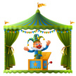 Circus Tent,Catwalk - Stage...