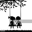 Art,Heterosexual Couple,Child,People,Black Color,Boyfriend,Dating,Design Element,Art And Craft,Vector,Backgrounds,Flirting,Simplicity,Boys,Silhouette,Night,Date Night - Romance,Summer,Swinging,Pattern,Meeting,Happiness,Illustration,Design,Girls,Playing,Outline,Girlfriend,Couple - Relationship,Black And White,Dark,Swing - Play Equipment,Friendship,Tree,White Color,Love - Emotion,Cartoon,Romance,Relaxation