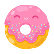 Donut,Pink Color,Smiley Face,Breakfast,Fun,Cookie,Drawing - Art Product,Computer Icon,Curve,Circle,Cheerful,Smiling,Bakery,Fried,Cute,Healthy Eating,Sprinkles,Dieting,Biscuit,Unhealthy Eating,Vector,Textured Effect,Eat,Fat,Characters,Food,Obsolete,Happiness,Symbol,Backgrounds,Design,Human Face,Multi Colored,Painted Image,Food And Drink,Hole,Image,Refreshment,Cake,Cartoon,Pastry,Glazed,Ilustration,Dessert,Ring,Sugar,Cream,Snack,Gourmet