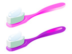 Toothbrush,Color Gradient,W...