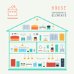 Infographic,House,Home Inte...