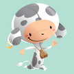 Carnival,Child,Cow,Happines...