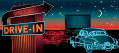 Drive-in Movie,Drive In Res...