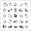 Asian Pear,Icon Set,Pineapp...