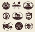 Tractor,Rubber Stamp,Farm,P...