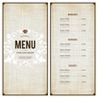 Vector,Menu Template,Crocke...