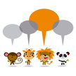 Small Group Of Animals,Pand...