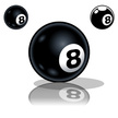 Eight Ball,Pool Game,Number...