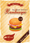 Burger,Poster,Hamburger,194...