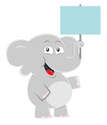 Gray,Elephant,Sign,Showing,...