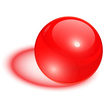 Pearl,Red,Shiny,Vector,Glas...