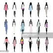 People,Glamour,Elegance,Casual Clothing,Town,City,Dress,Lifestyles,Human Body Part,Walking,Standing,Airport Runway,Silhouette,Beauty,Shopping,Adult,Catwalk - Stage,Illustration,Females,Women,Fashion Model,Portrait,Vector,Fashion,Adults Only,Relaxation,Beautiful Woman,The Human Body,Fashionable