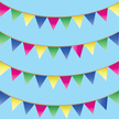 Bunting,Pennant,Event,Summe...