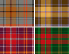 Plaid,Christmas,Pattern,Sco...
