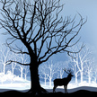 Tree,Vector,Forest,Winter,A...
