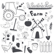 Doodle,Infographic,Agricult...