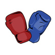 Boxing Glove,Red,Muay Thai,...