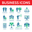 Business People - Vector Icons Set