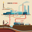 Infographic,Factory,Oil,Min...