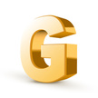 Letter G,Three Dimensional,...