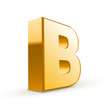 Letter B,Three Dimensional,...