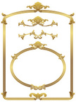 Frame,Ornate,Metallic,Pictu...