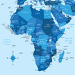 Map,Africa,Middle East,coun...