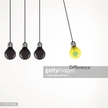 Creative light bulb Idea concept background