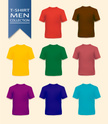 T-Shirt,template,Red,Purple...