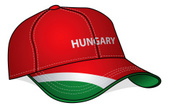 Hungary,Baseball Cap,Flag,S...