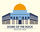 Israel,Dome Of The Rock,Vec...