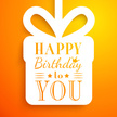 Birthday,Orange Color,Gift,...