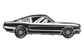 Ford Mustang,Muscle Car,Rac...