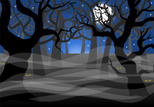 Spooky,Landscape,Forest,Hor...