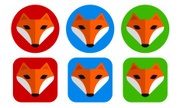 Fox,Cute,Symbol,Animal,Comp...